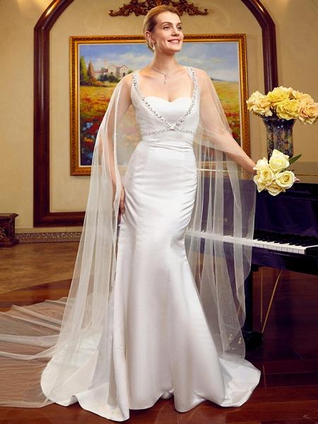 Lt6036351 Elegant Mermaid Boho Beach Wedding Dress_1