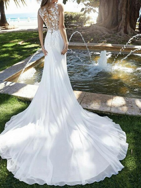 Lt8002951 Mermaid Romantic Bohemian Wedding Dresses 2021_2