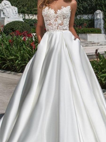 Lt7976000 Elegant A-line Boho Beach Wedding Dress_3