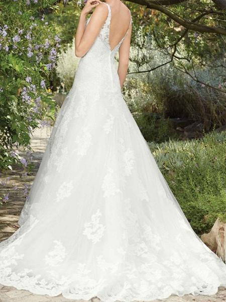 Lt8045536 Vintage Boho Straps Wedding Dress_2