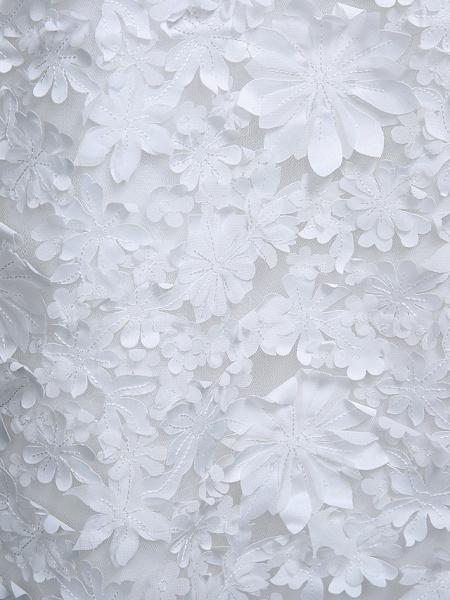 Sheath \ Column Wedding Dresses Jewel Neck Short \ Mini Chiffon Regular Straps Romantic Casual See-Through Plus Size Backless_12
