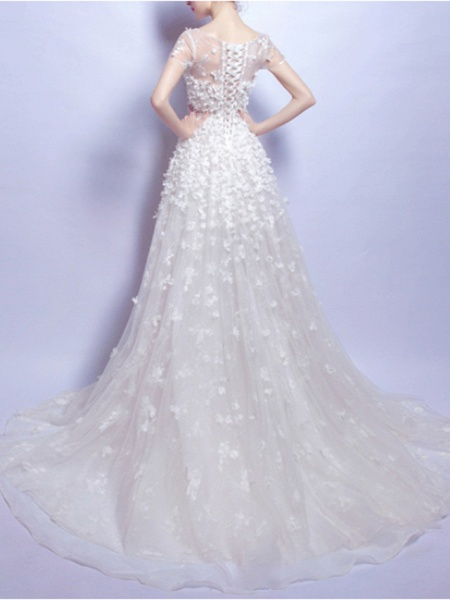 Lt7925731 Lace Vintage Boho Wedding Dress 2021_2