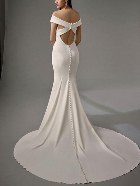Lt8036995 Off The Shoulder Mermaid Vintage Bohemian Wedding Dress_2