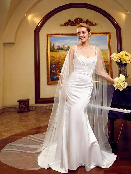 Lt6036351 Elegant Mermaid Boho Beach Wedding Dress_5