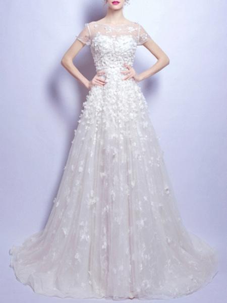 Lt7925731 Lace Vintage Boho Wedding Dress 2021_1