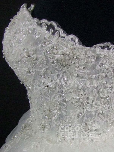Elegant Luxury Lace Wedding Dress 2020 Vintage Plus Size Ball Gowns_6