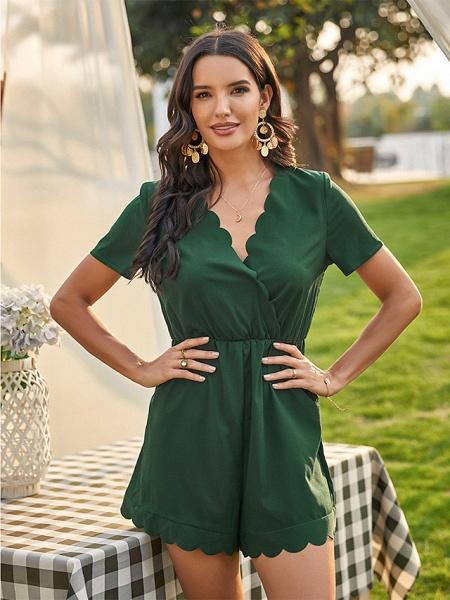 Women's Green Romper_4