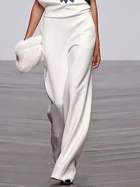 Women's White Jumpsuit_3