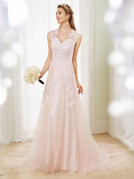 Lt6084138 Romantic Bohemian Wedding Dresses 2021_1