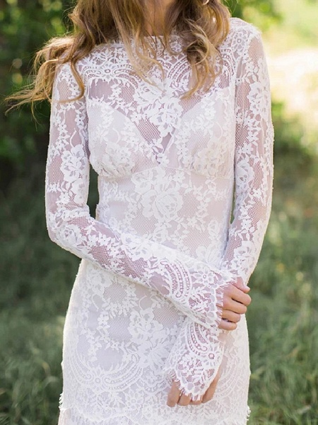 Lt8058910 Beautiful Lace Long Sleeve Wedding Gowns 2021_3