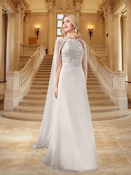 Lt8045663 A-line Tulle Boho Lace Wedding Dress_2
