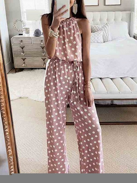 Women's Blushing Pink Jumpsuit