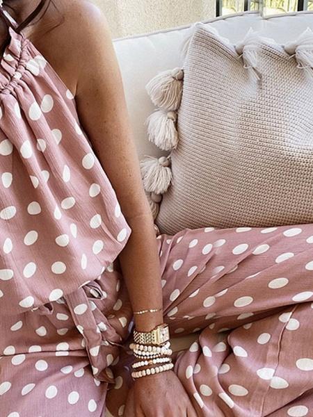 Women's Blushing Pink Jumpsuit_3