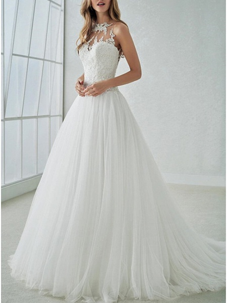 Lt7851905 A-line Vintage Boho Wedding Dress_1