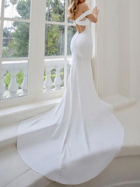 Lt8036995 Off The Shoulder Mermaid Vintage Bohemian Wedding Dress_3