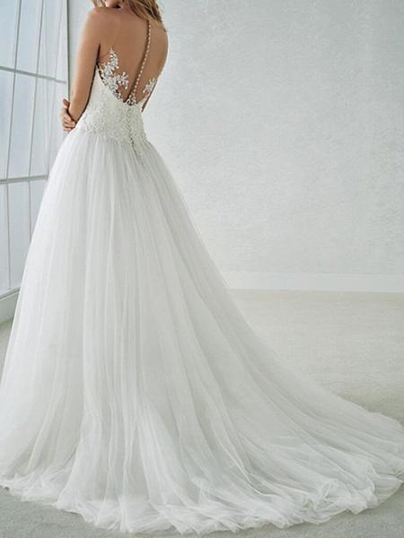 Lt7851905 A-line Vintage Boho Wedding Dress_3