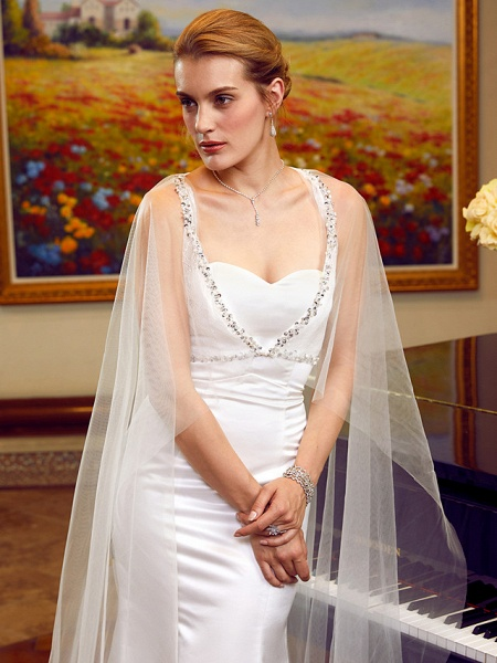 Lt6036351 Elegant Mermaid Boho Beach Wedding Dress_7