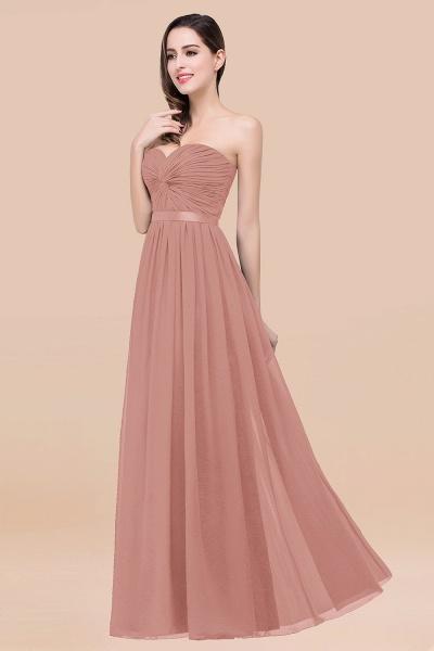 Elegant A-Line Chiffon Sweetheart Sleeveless Floor-Length Bridesmaid Dress with Ribbon_50