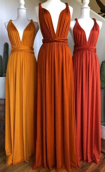 Convertible Long A-line Bridesmaid Dresses | Multiway Infinity Dress