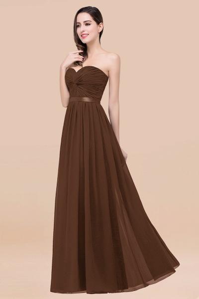 Elegant A-Line Chiffon Sweetheart Sleeveless Floor-Length Bridesmaid Dress with Ribbon_12