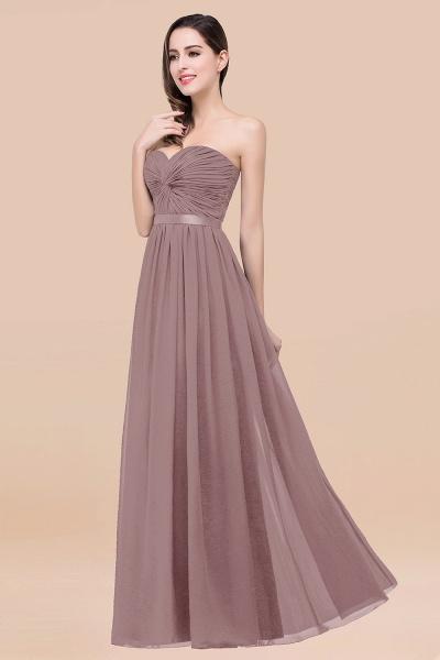Elegant A-Line Chiffon Sweetheart Sleeveless Floor-Length Bridesmaid Dress with Ribbon_37
