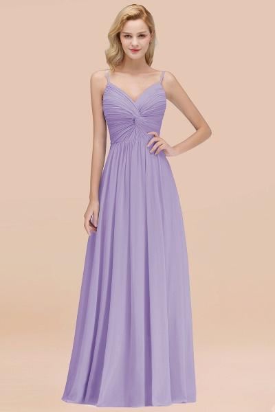 A-Line Chiffon V-Neck Spaghetti Straps Floor-Length Bridesmaid Dresses_21