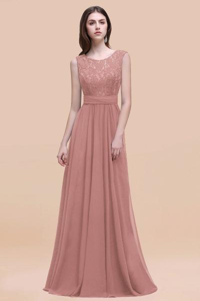 Elegant A-line Chiffon Lace Scoop Sleeveless Floor-Length Bridesmaid Dress_50