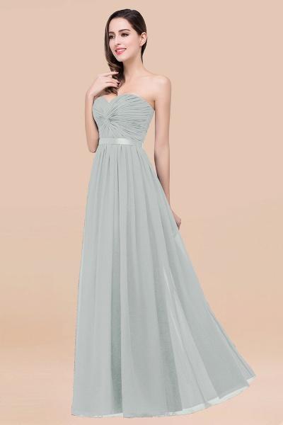 Elegant A-Line Chiffon Sweetheart Sleeveless Floor-Length Bridesmaid Dress with Ribbon_38