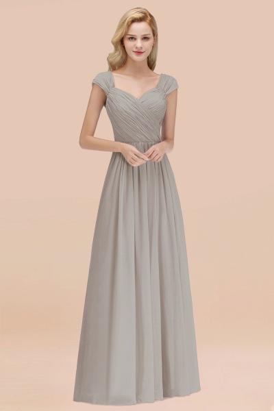 A-Line Chiffon Straps Sweetheart Sleeveless Floor-Length Bridesmaid Dress with Ruffles_30