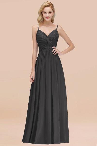 A-Line Chiffon V-Neck Spaghetti Straps Floor-Length Bridesmaid Dresses_46