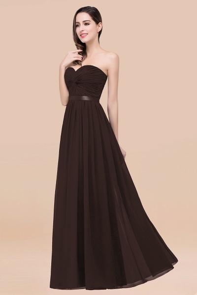 Elegant A-Line Chiffon Sweetheart Sleeveless Floor-Length Bridesmaid Dress with Ribbon_11
