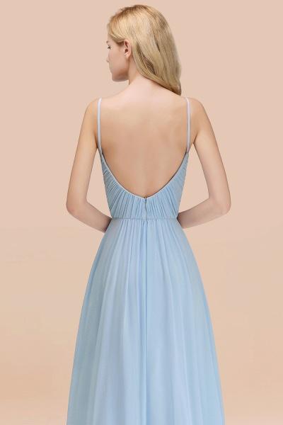 A-Line Chiffon V-Neck Spaghetti Straps Floor-Length Bridesmaid Dresses_55