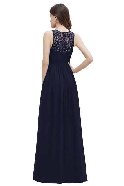 V-Neck A-line Chiffon Sleeveless Evening Maxi Dress_16