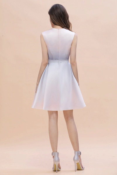 Elegant Gradient A-line Daily Casual Sleeveless Evening Party Dress_8