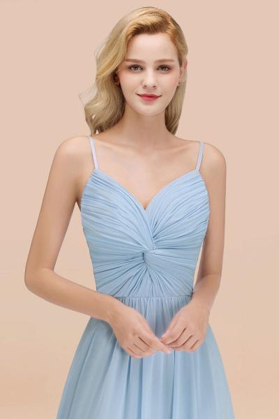 A-Line Chiffon V-Neck Spaghetti Straps Floor-Length Bridesmaid Dresses_54