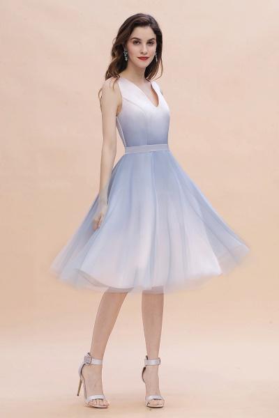 Elegant V-Neck Gradient A-line Mini Homecoming Dress_1