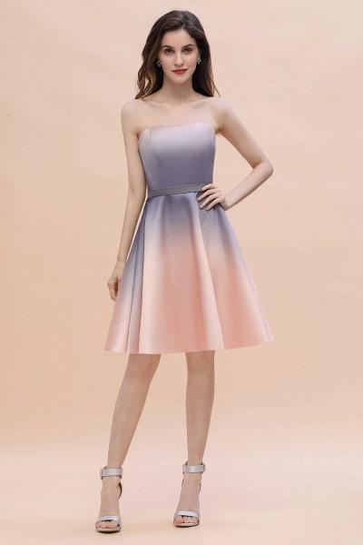 A-line Sweetheart Gradient Short Evening Party Dress_2