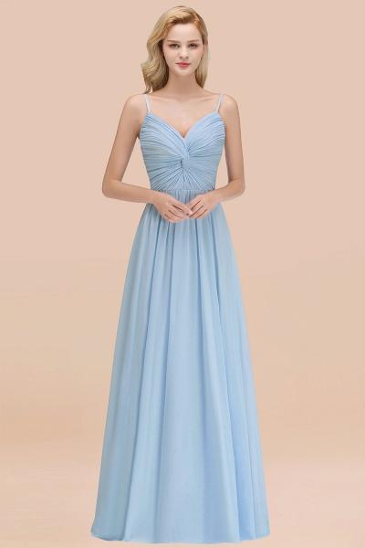 A-Line Chiffon V-Neck Spaghetti Straps Floor-Length Bridesmaid Dresses_51