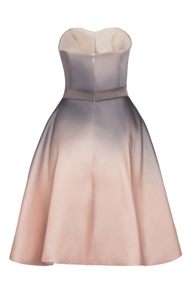 A-line Sweetheart Gradient Short Evening Party Dress_13