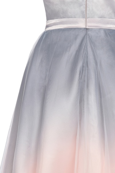 Elegant V-Neck Gradient A-line Mini Homecoming Dress_13