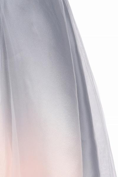 Elegant V-Neck Gradient A-line Mini Homecoming Dress_14