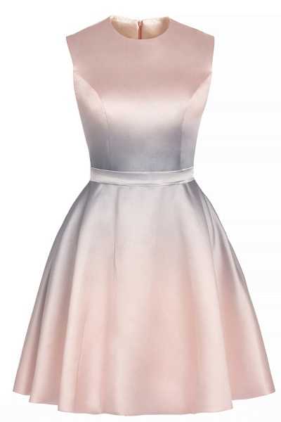 Elegant Gradient A-line Daily Casual Sleeveless Evening Party Dress_10