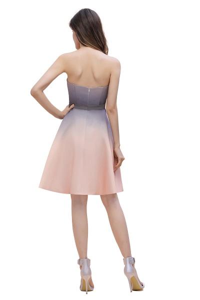 A-line Sweetheart Gradient Short Evening Party Dress_5