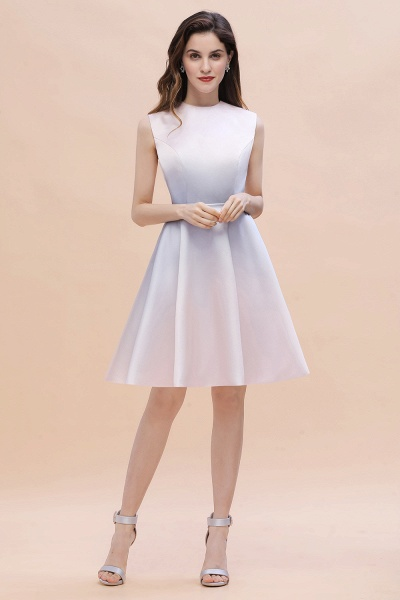 Elegant Gradient A-line Daily Casual Sleeveless Evening Party Dress_6