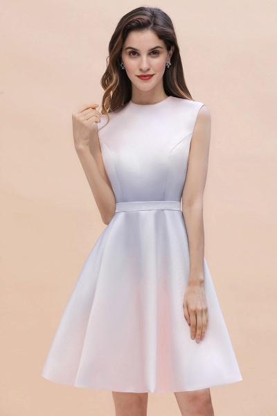 Elegant Gradient A-line Daily Casual Sleeveless Evening Party Dress_4