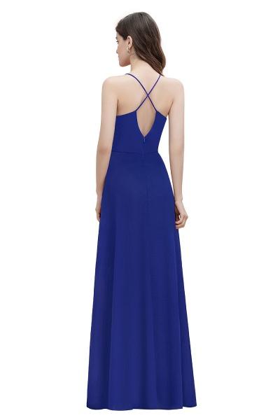 Straps Bateau A-line Sequins Chiffon Evening Prom Dress_12