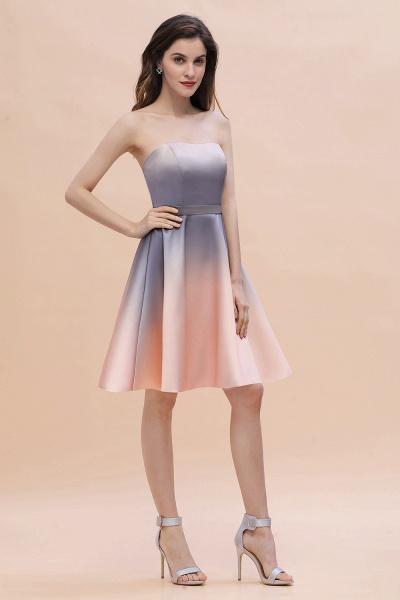 A-line Sweetheart Gradient Short Evening Party Dress_9