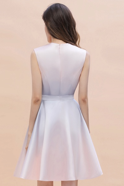 Elegant Gradient A-line Daily Casual Sleeveless Evening Party Dress_9