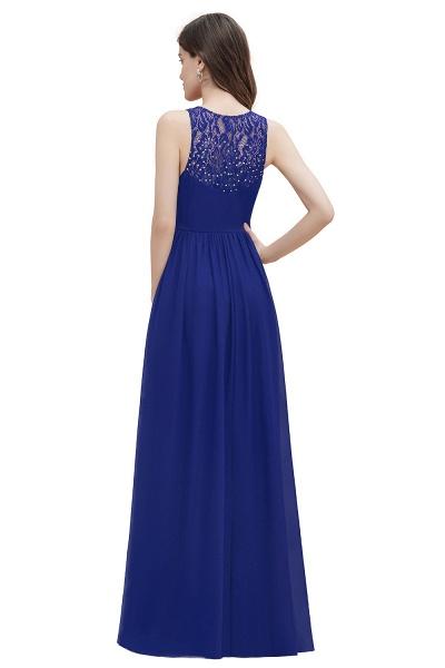 V-Neck A-line Chiffon Sleeveless Evening Maxi Dress_14