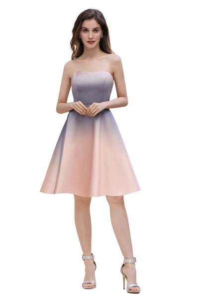 A-line Sweetheart Gradient Short Evening Party Dress_4